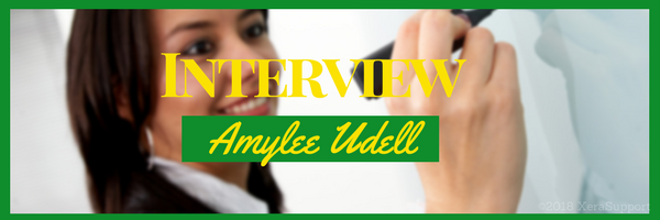 Interview with Amylee Udell about her work at home job