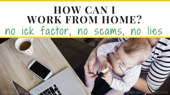 How can I work from home?