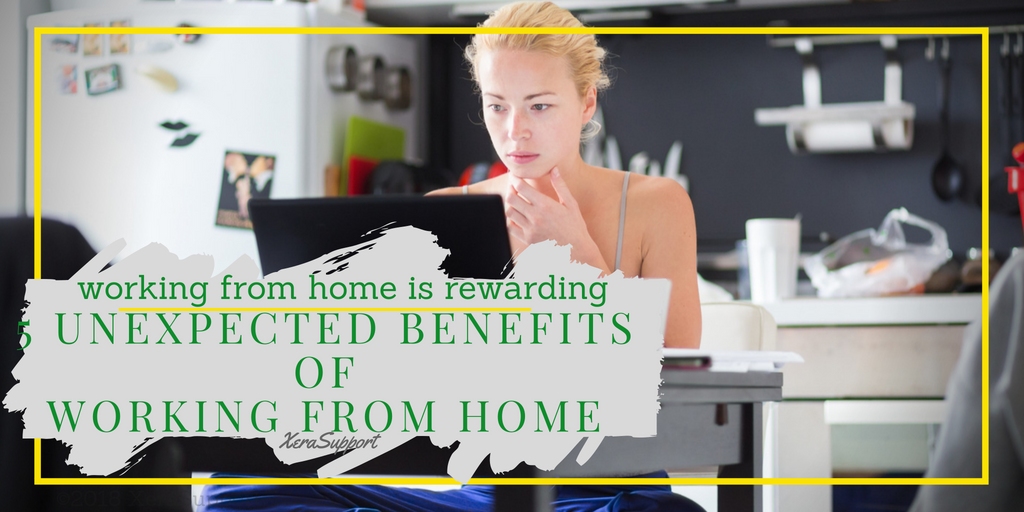 The 5 benefits of working from home