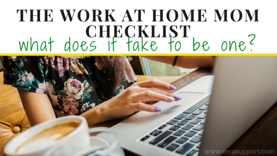 The Work at Home Mom Checklist