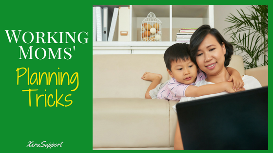 Working Moms Planning Tricks: how a wahm gets it done!