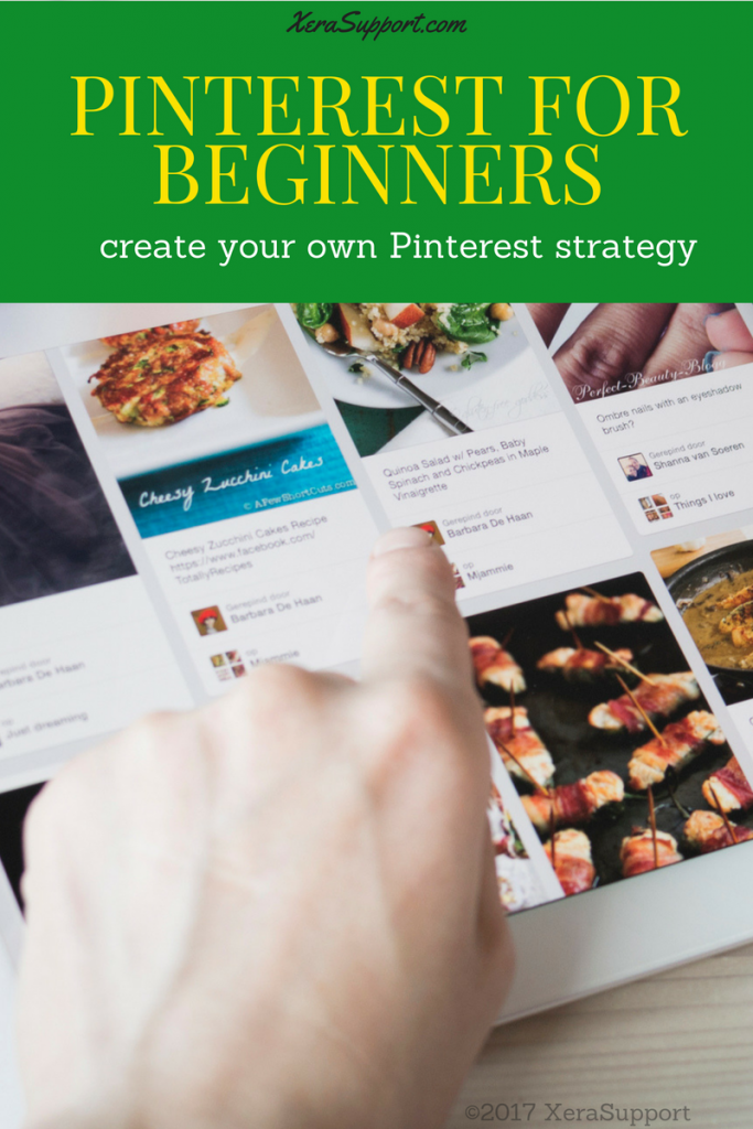 Pinterest for beginners - a strategy for the confused