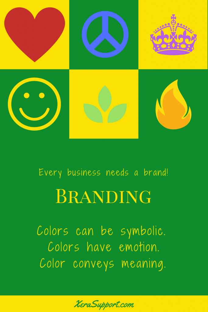You need a brand that has symbolic, emotionally meaningful colors!
