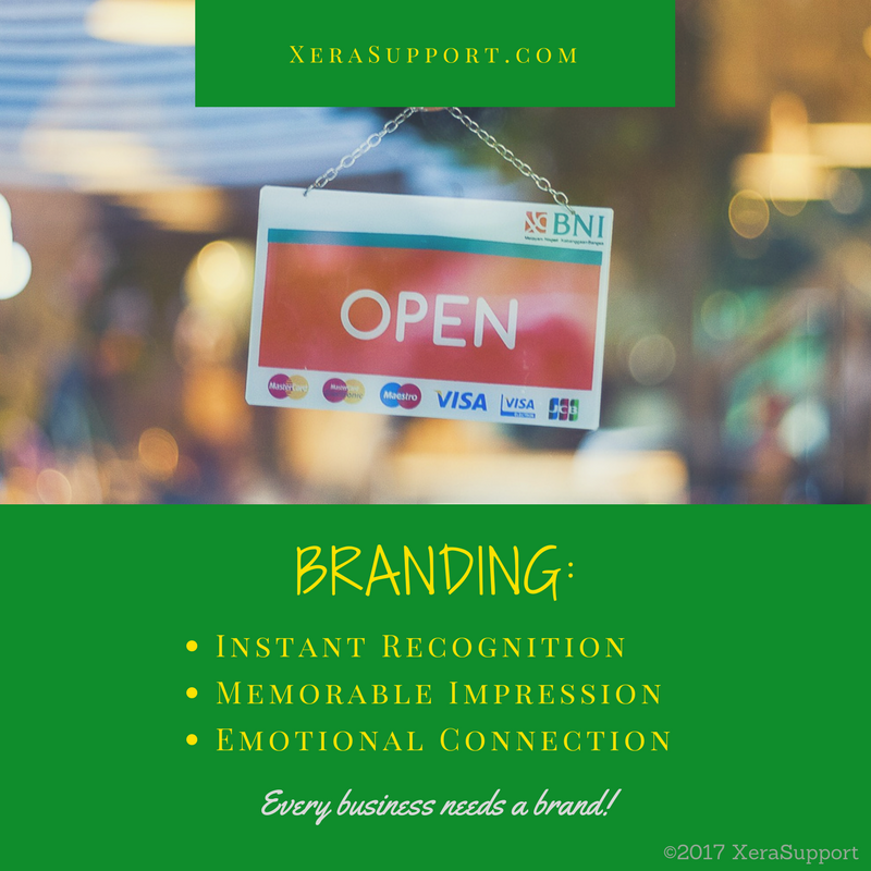 You need a brand that is instantly recognizable, memorably impressive, and emotionally connecting.