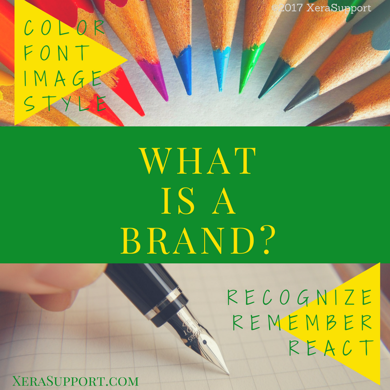 You need a brand -- the colors, fonts, images, and style -- that will encourage your audience to recognize, remember and react to your business!