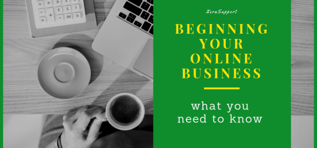 Beginning your Online Business