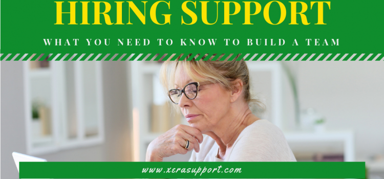 Hiring Support: When and How to Get Help with your Business