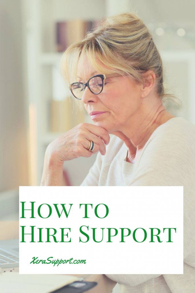 Is your business growing? Are you finding it hard to manage now? You might need to hire support for your business. Here's how to do it.