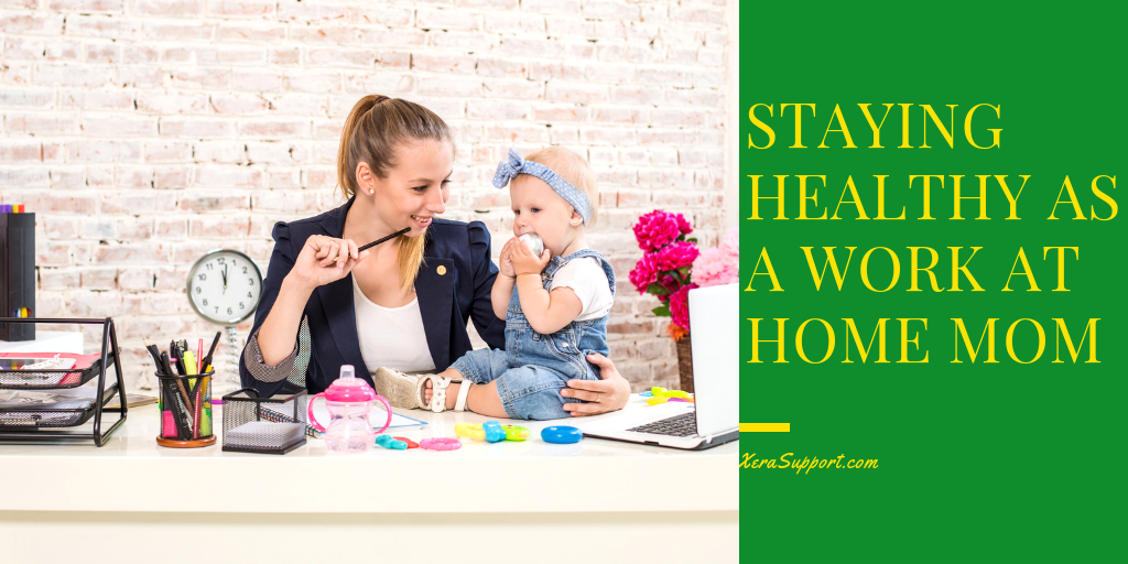 Staying healthy as a WAHM can often feel difficult. But it really isn't hard. It's about small changes and making good choices.