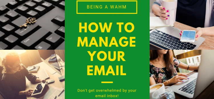 Managing your Email as a WAHM