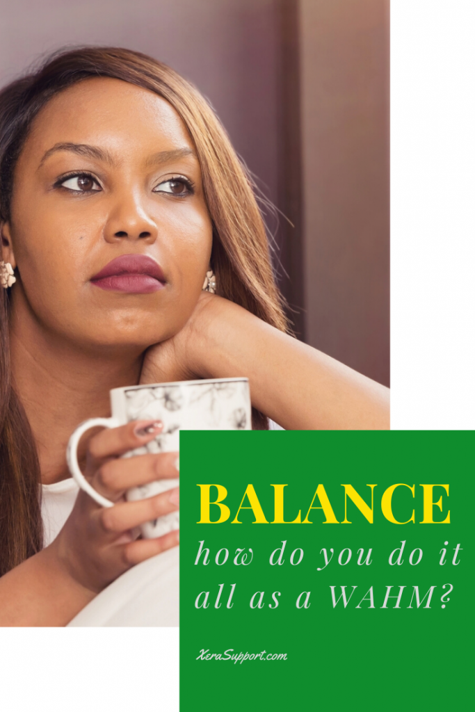 If you work at home, you probably have this question. How do you balance it all as a wahm? Here's the truth: it's not about balance. It's about choices.