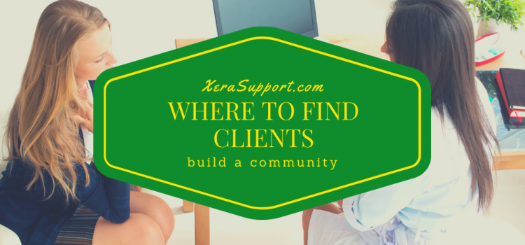 Where to find clients