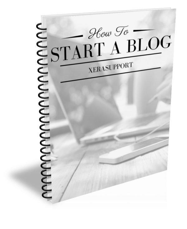 Start a Blog Workbook
