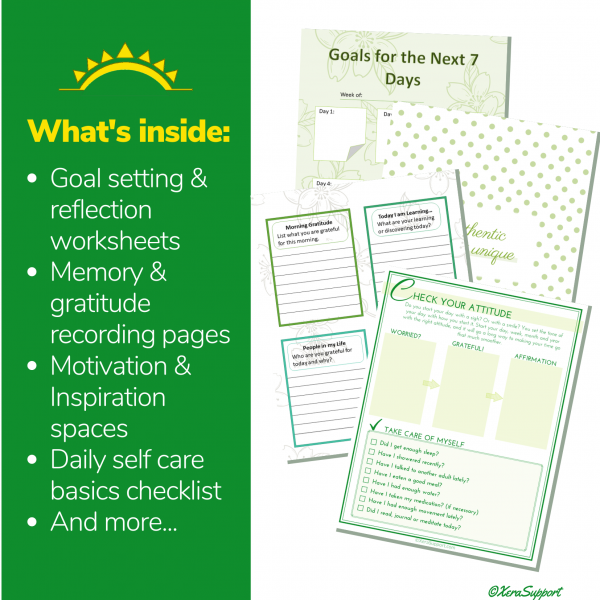 WAHM Self-Care Journal