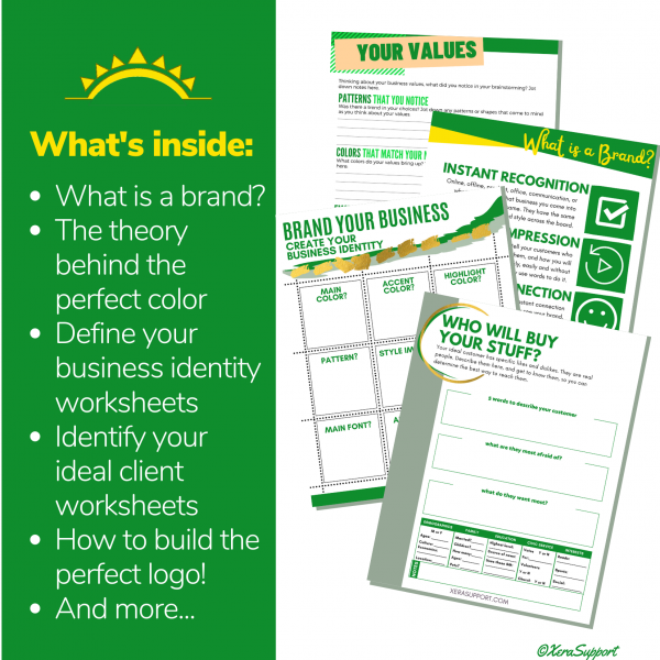 Branding for Beginners Workbook