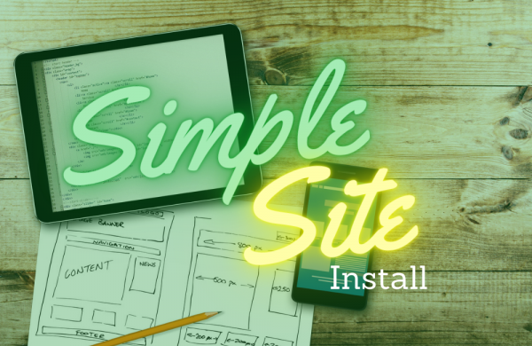 Simple Site Install